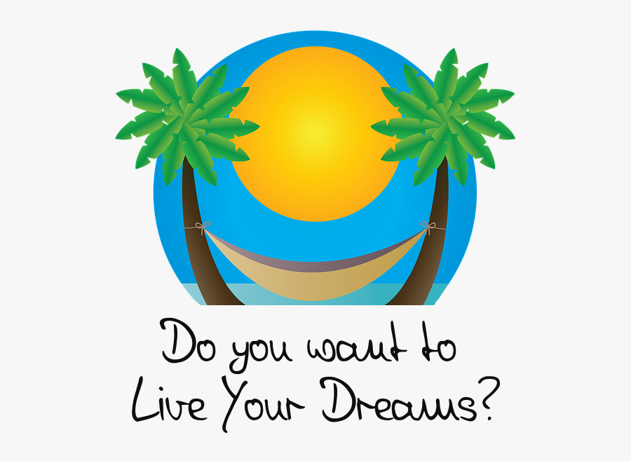 How Has Malinda Become - Living The Dream Clipart, Transparent Clipart