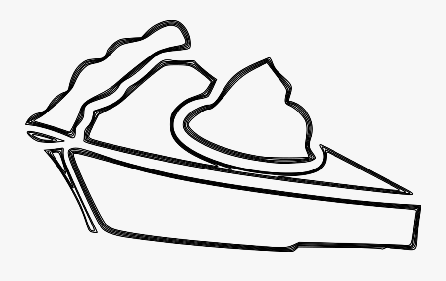 We Always Have At Least One Kind Of Tart Or Pie Available - Coconut Pie Drawing, Transparent Clipart