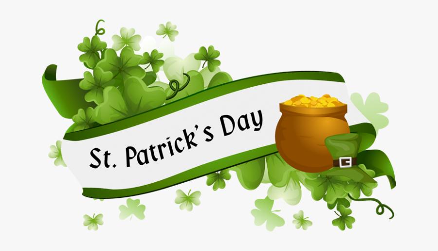 "St Patrick""s Day Clip Art Borders Archives - Transparent Background St Patricks Day Png, Transparent Clipart"