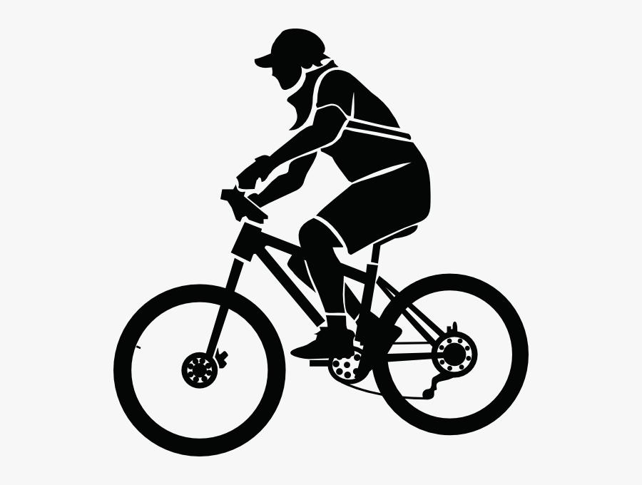 Mountain Bike Vector Png - Biker Clipart, Transparent Clipart