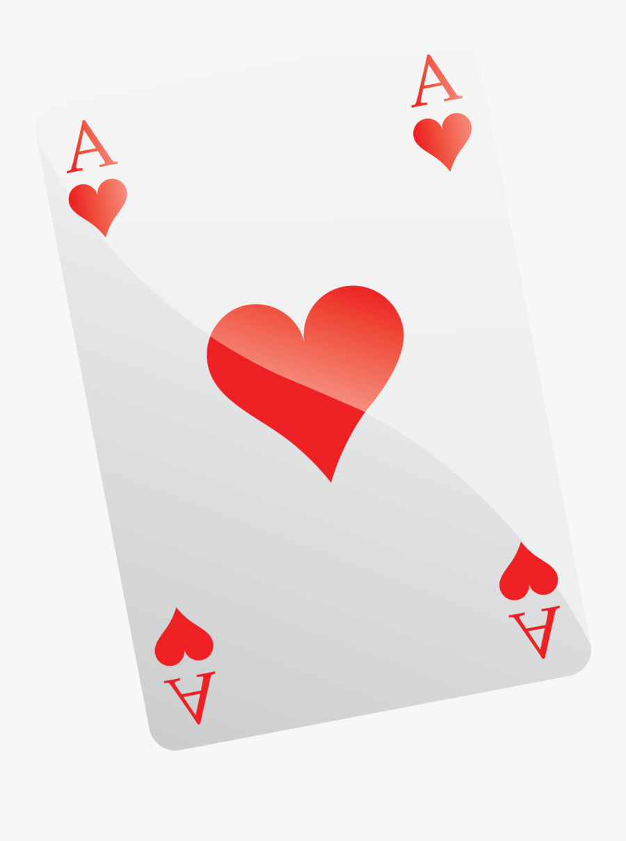 Poker Card As Png, Transparent Clipart