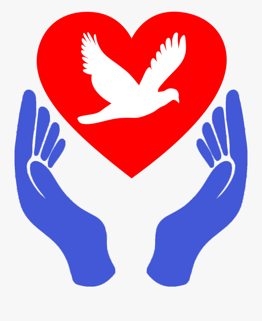 Heart Hands France - Symbol Of Peace And Love, Transparent Clipart