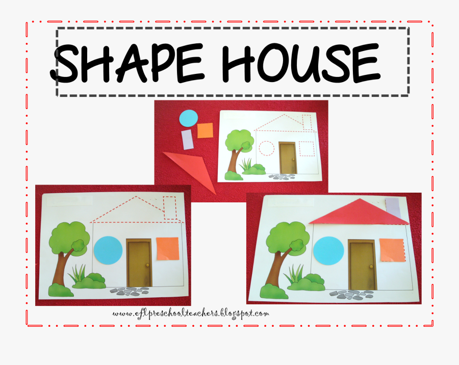 Teach House For Preschool, Transparent Clipart