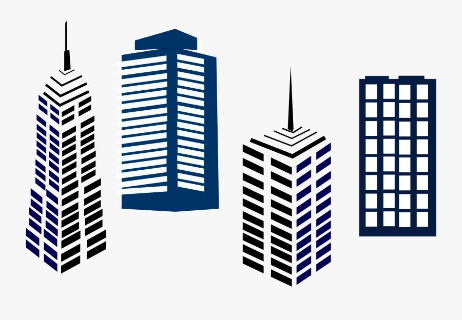 Building Clipart Png - Commercial Real Estate Clipart, Transparent Clipart