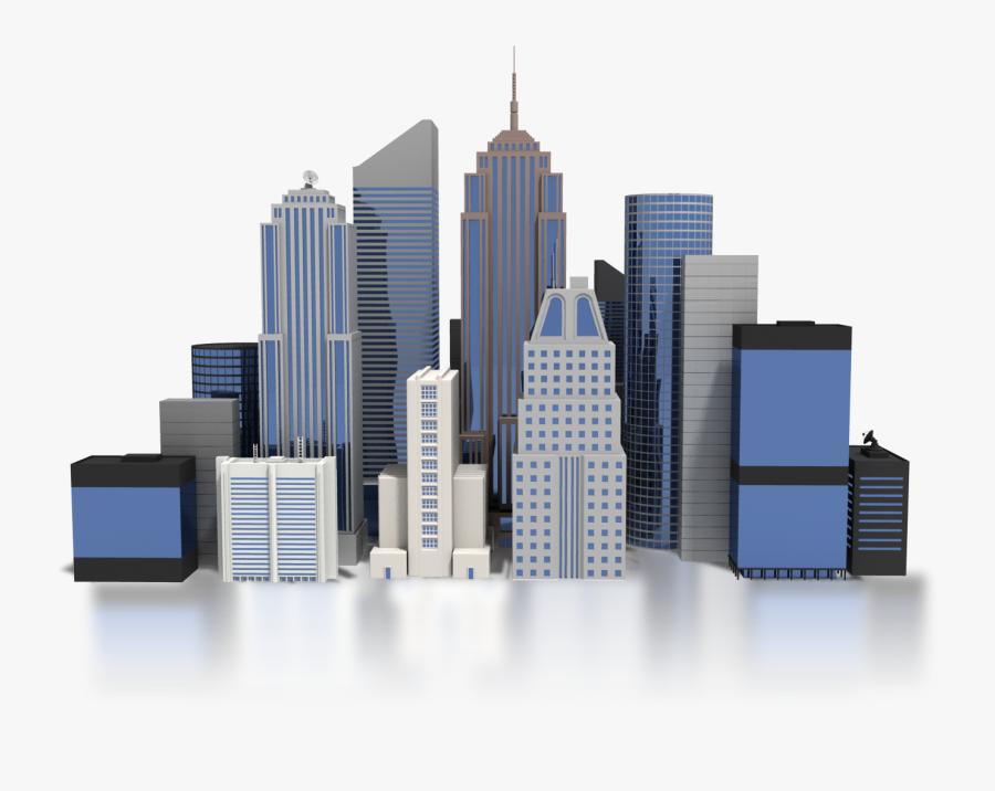 City Png Pic - Buildings Cliparts Transparent, Transparent Clipart