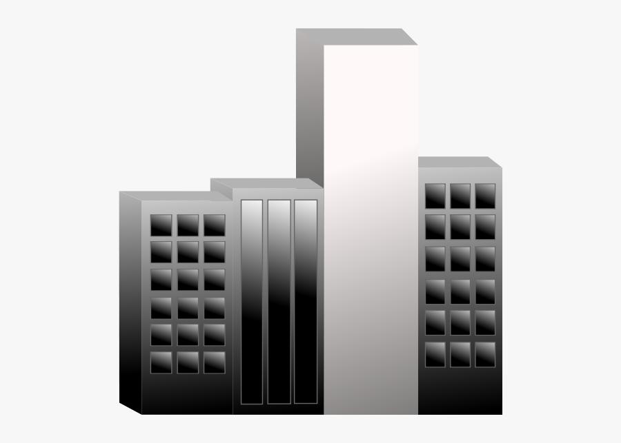 Free City Buildings - Building, Transparent Clipart