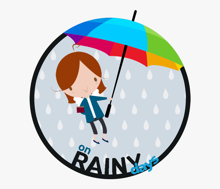 On Rainy Days Clipart , Png Download - Smiley, Transparent Clipart