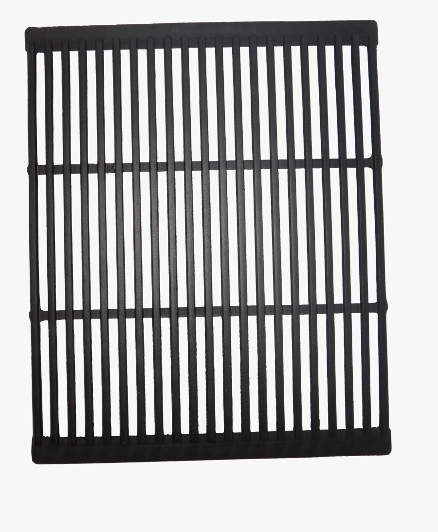 Bbq Grill Png Black And White - Cast Iron Grill Plate, Transparent Clipart