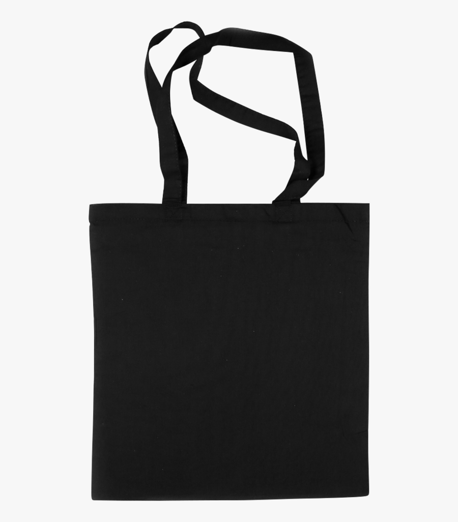 Shopping Bags Png Black And W - Transparent Black Tote Bag Png, Transparent Clipart