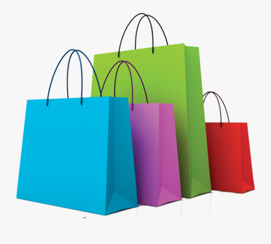 Plastic Bag Shopping Bags & Trolleys Clip Art - Shopping Bags Transparent Background, Transparent Clipart