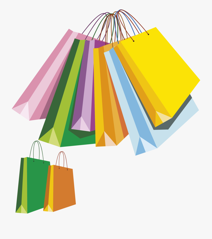 Transparent Purse Clipart Png - Shopping Bags Clipart, Transparent Clipart