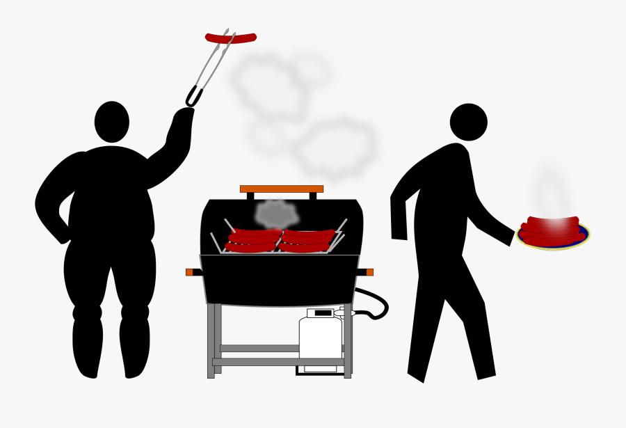 Transparent Bbq Clipart Free - Barbecue, Transparent Clipart
