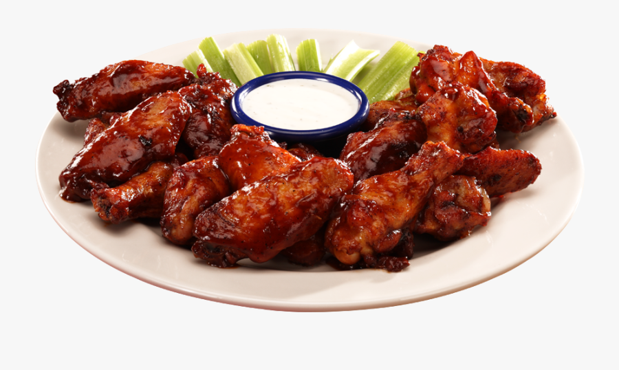Bbq Chicken Png - Chicken Wings Bbq Png, Transparent Clipart
