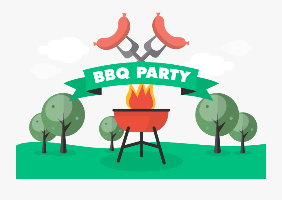 Bbq Party, Png Transparent, Tube, Clipart, Barbecue - Picnic Barbecue Clipart, Transparent Clipart