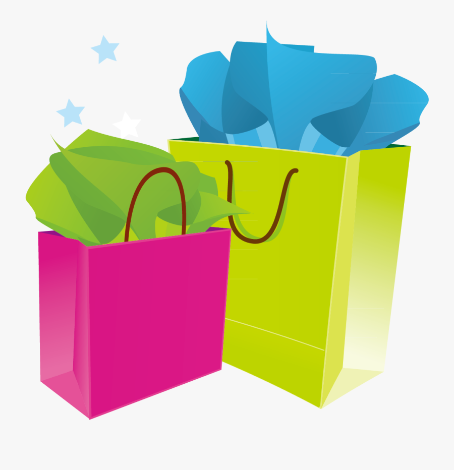 Transparent Shopping Clip Art - Fashion Clipart Shopping Bags, Transparent Clipart