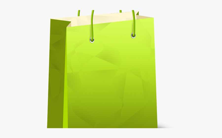 Shopping Bag Icon, Transparent Clipart