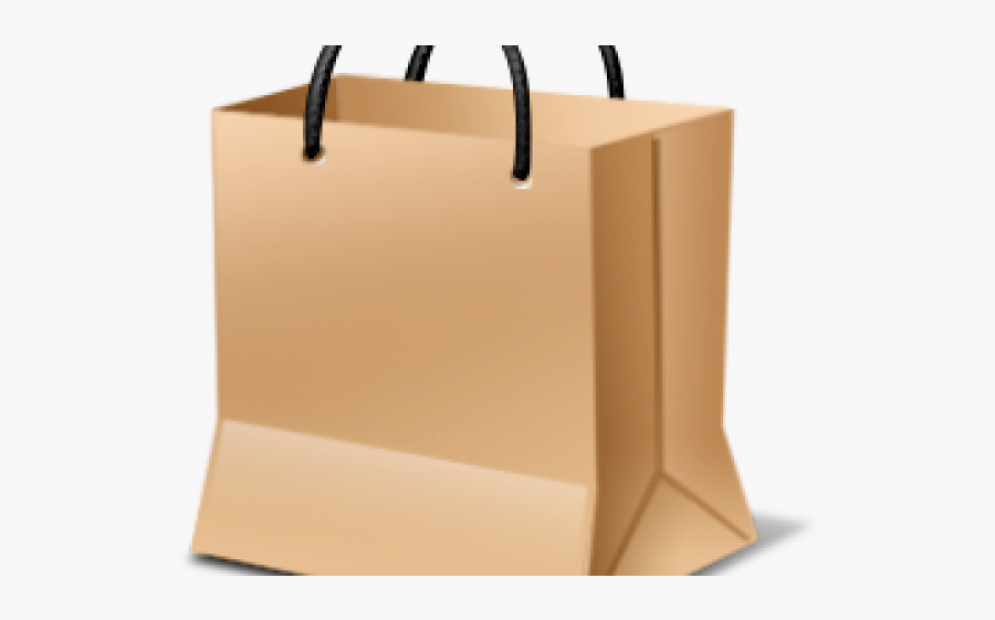 Shopping Bag Clipart Clear Background - Tote Bag, Transparent Clipart