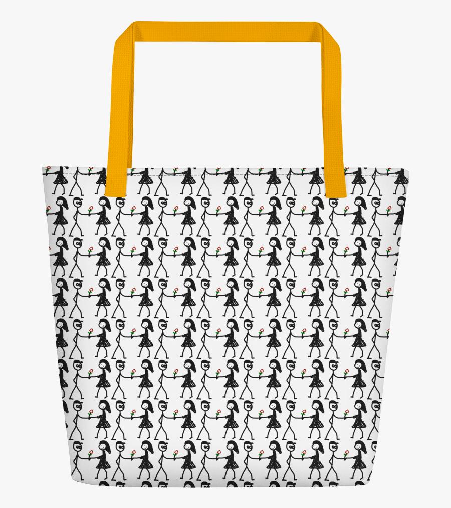Transparent Cute Shopping Bag Clipart - Shoulder Bag, Transparent Clipart