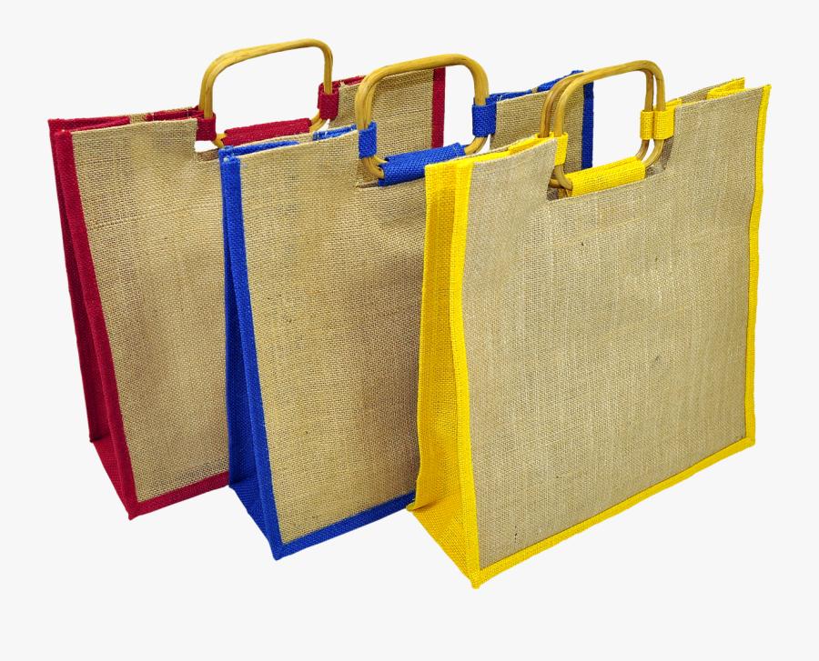 Bag Shopping Eco-friendly Jute Png Image - Eco Friendly Bag Png, Transparent Clipart