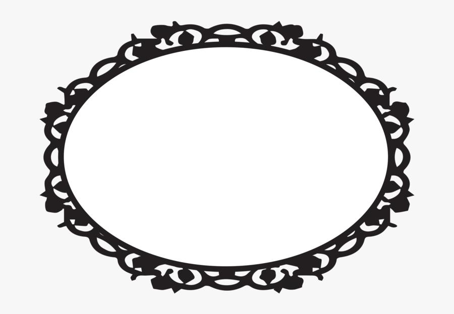 Oval Victorian Frames Clipart Ciij - Oval Frame Clip Art ...