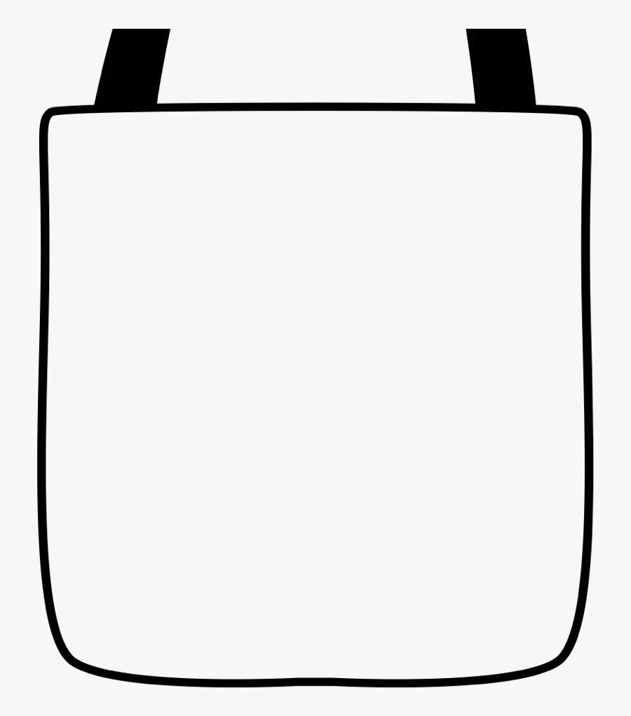Jpg Tote Bag Clipart - Tote Bag, Transparent Clipart