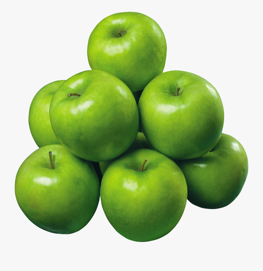 Green Apples Photo - Real Green Apple Fruit, Transparent Clipart