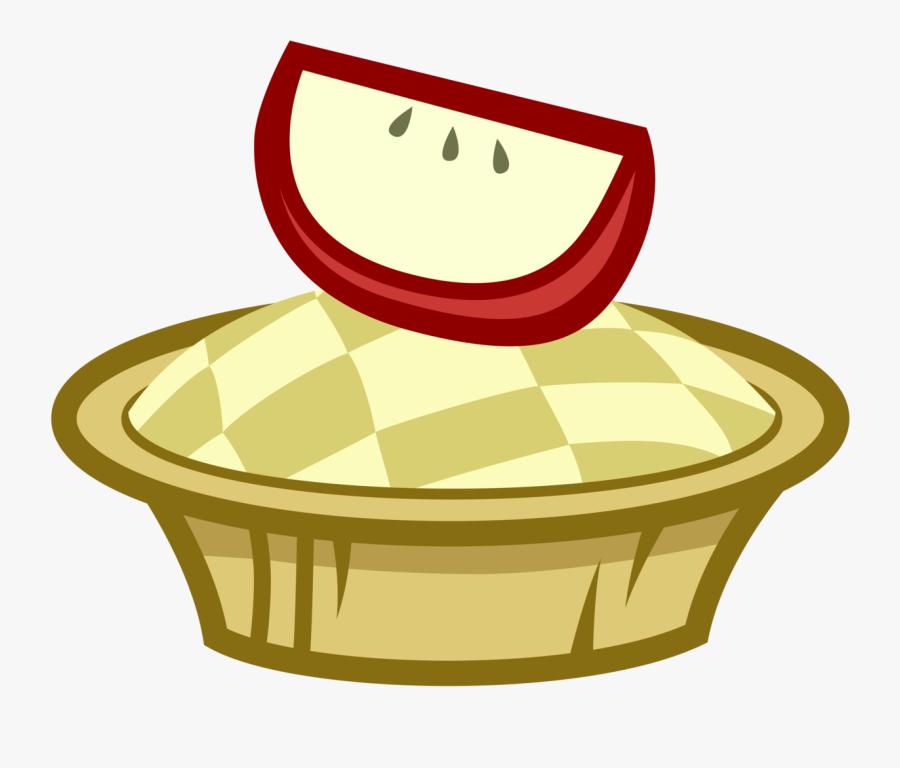 Apple Slice, Apple Tart, Artist - Mlp Apple Cutie Marks Deviantart, Transparent Clipart