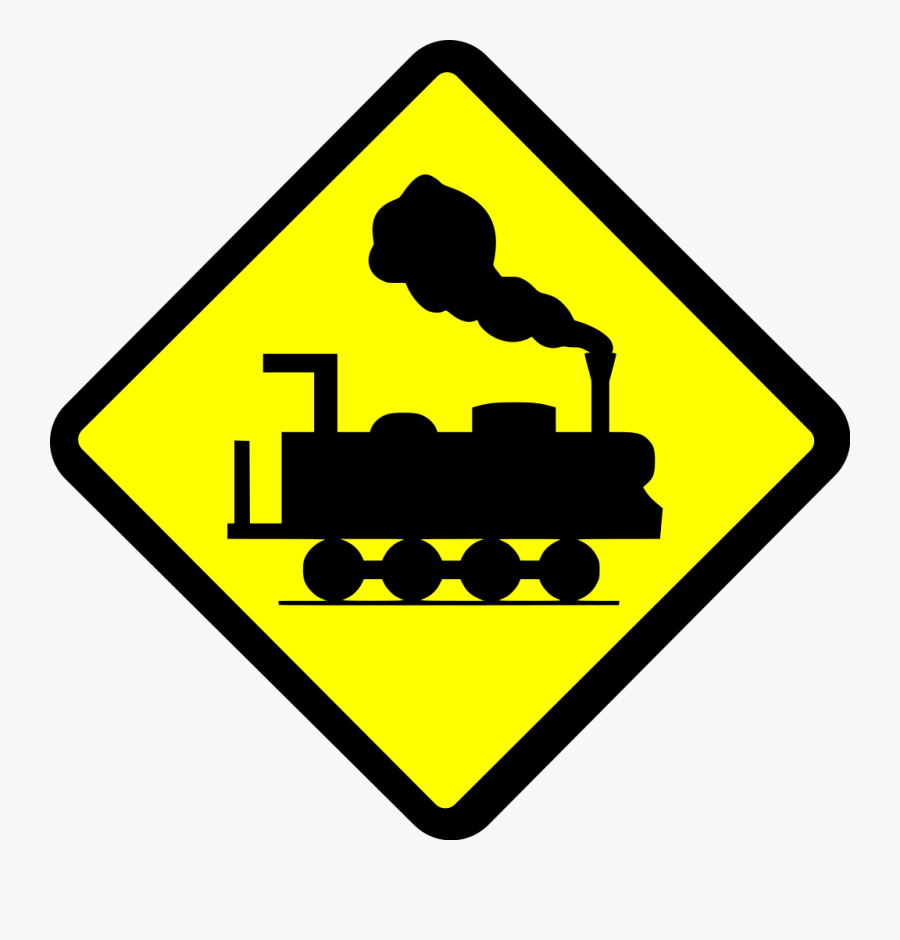 Indonesia Road Sign 8f - Car Hitting Person Sign, Transparent Clipart