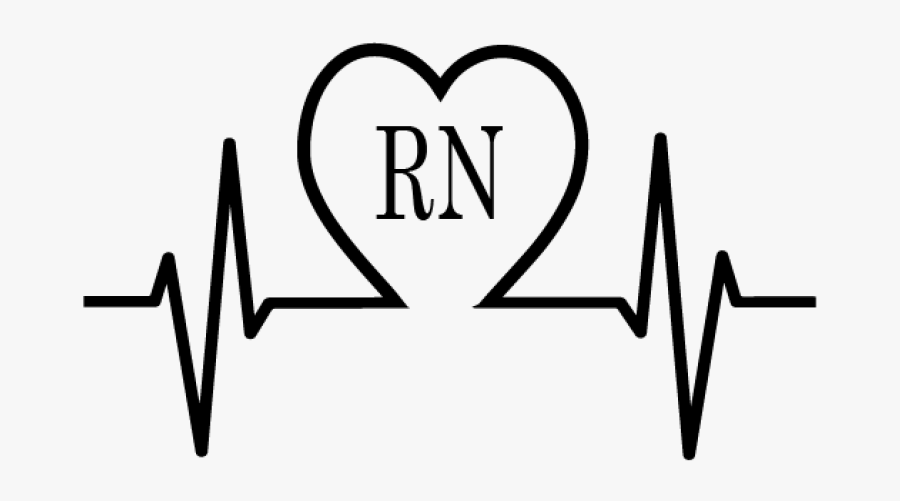 Nurse Ekg In Heart Png Nurse Ekg - High Blood Pressure Png, Transparent Clipart