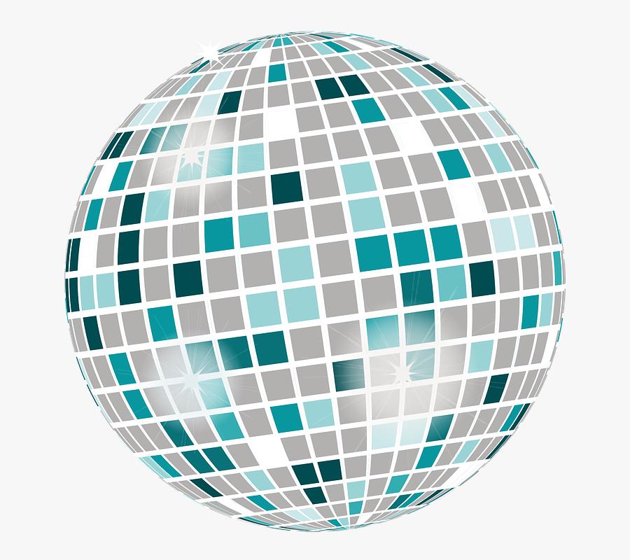 Mirror Ball, Disco, Light Effect, Ball, Light, Sparkle - Bola De Discoteca Emoji, Transparent Clipart