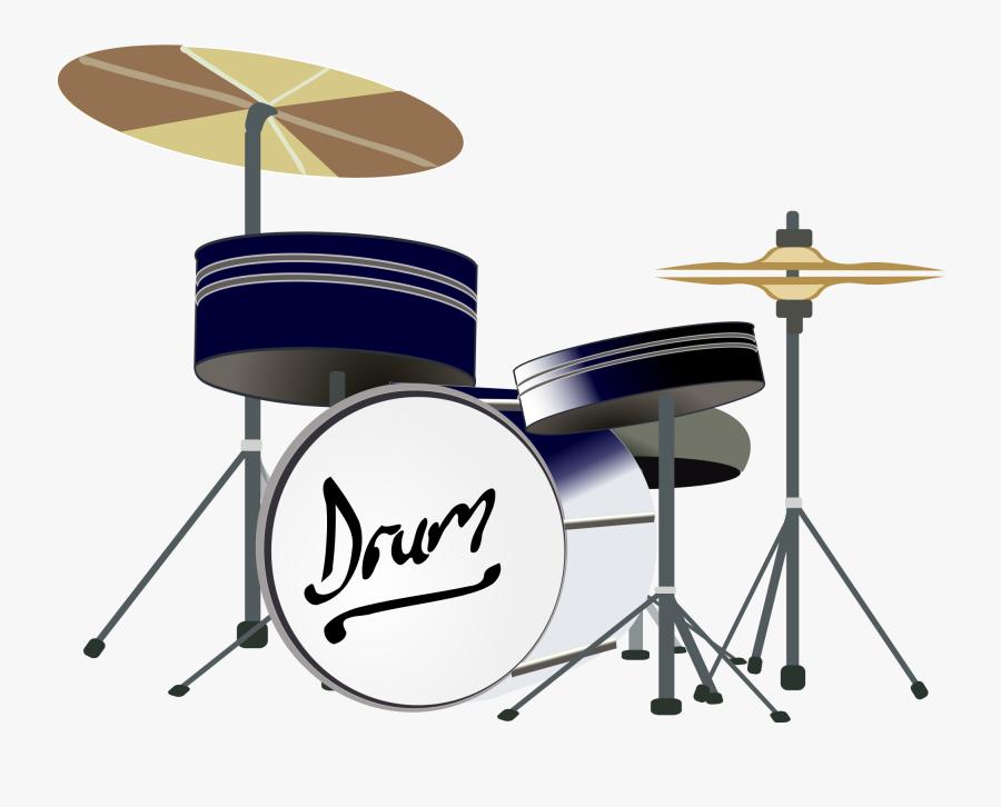 Drums Clipart Svg - Clip Art Drum Set Png, Transparent Clipart
