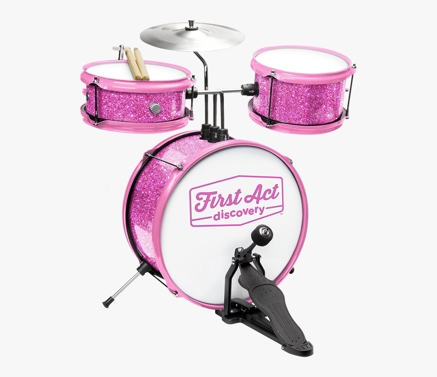 Transparent Drumset Png - First Act Discovery Drum Pink, Transparent Clipart