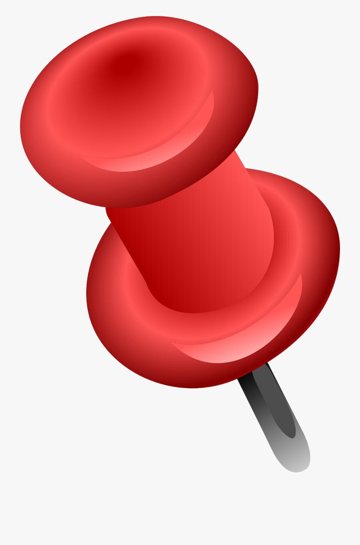 Push Pin Clipart, Transparent Clipart