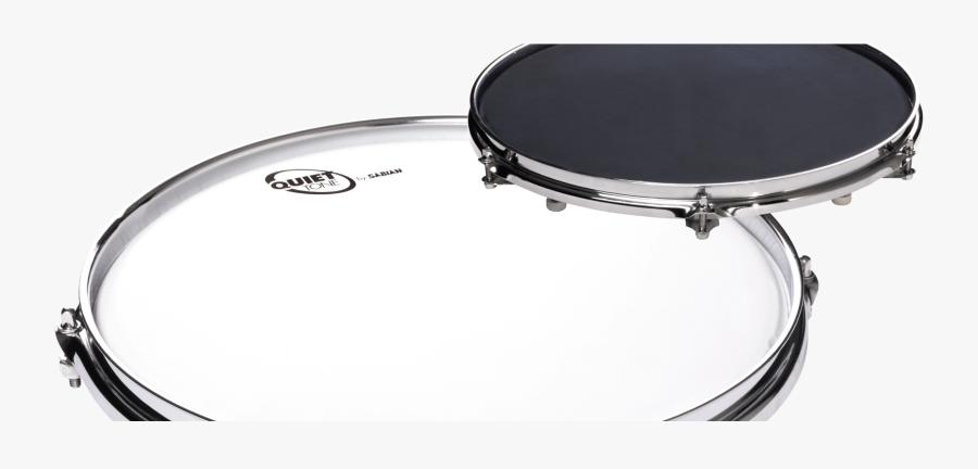 Quiet Tone Practice Pads Sabian Cymbals Png Quad Drum - Quiet Drum, Transparent Clipart