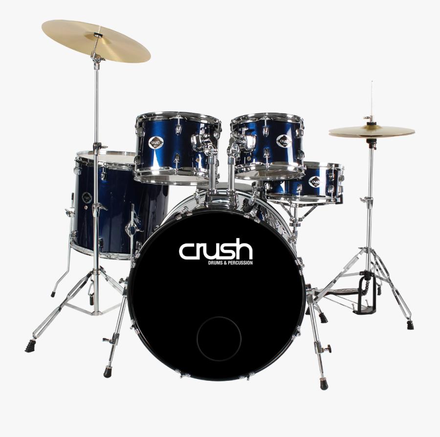 Crush Al528902 Alpha Complete Drumset-midnight Blue - Bass Drum Drum Set, Transparent Clipart