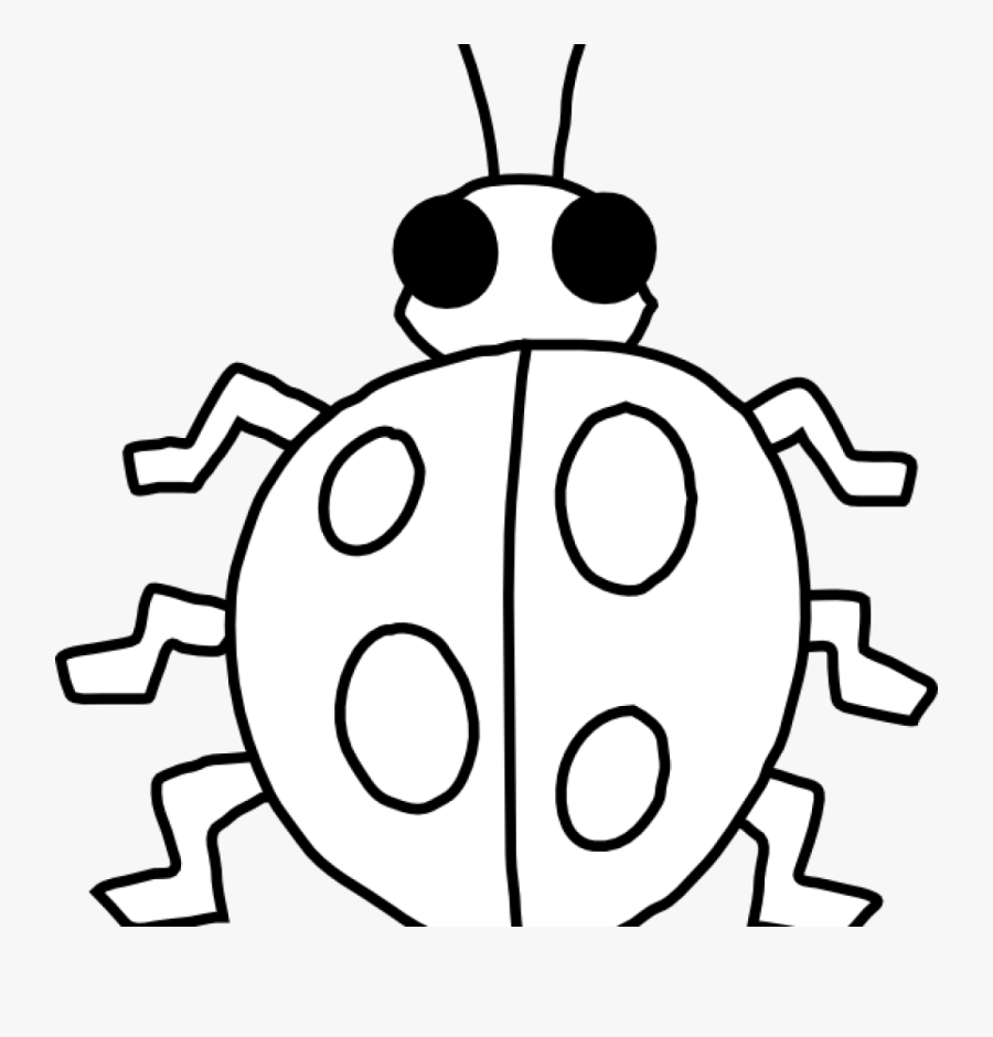 ladybug outline ladybug clip art at clker vector clip - outline of a  ladybird , free transparent clipart - clipartkey  clipartkey