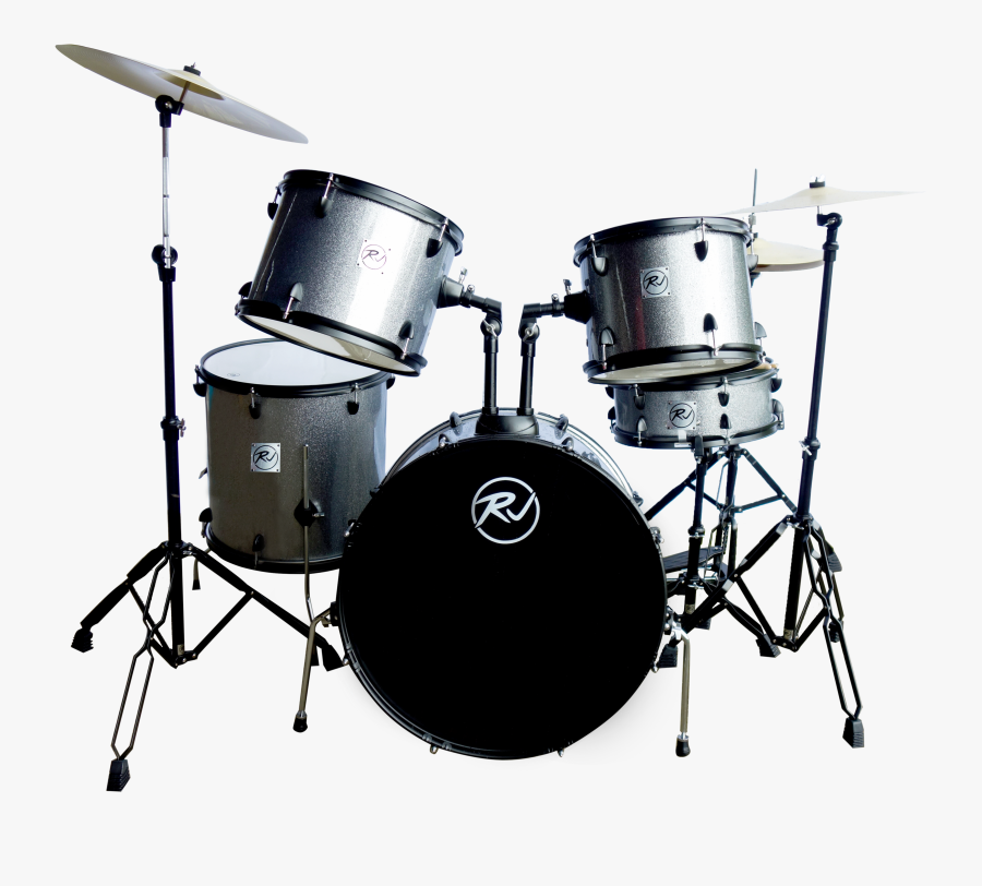 Rj Basics Drumset - Drums Png, Transparent Clipart
