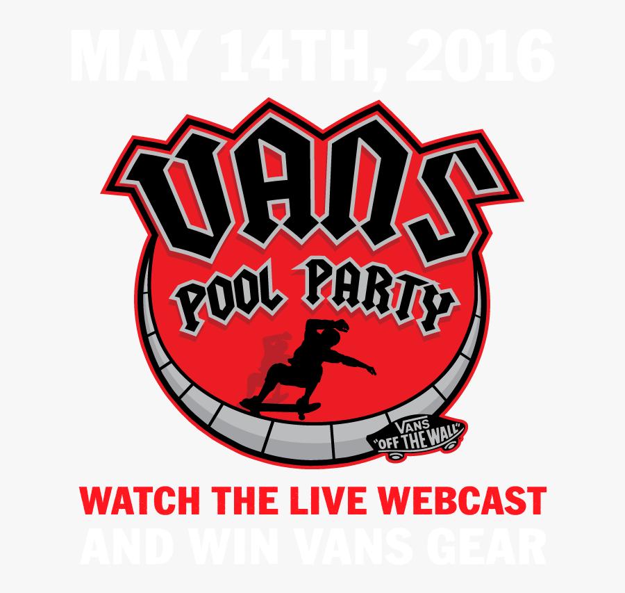 Vans Pool Party 2019, Transparent Clipart