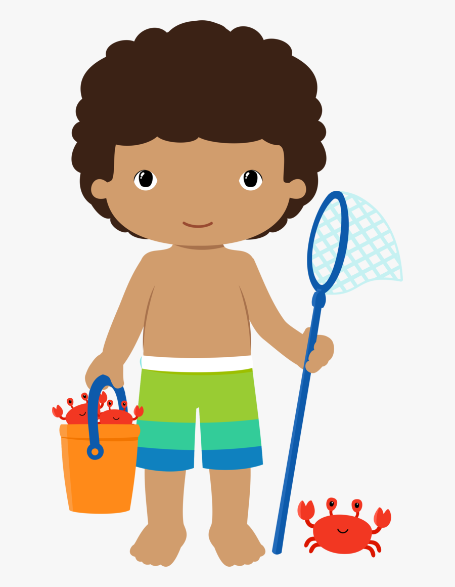Surf Clipart Baby Beach - Pool Party Png Boy, Transparent Clipart