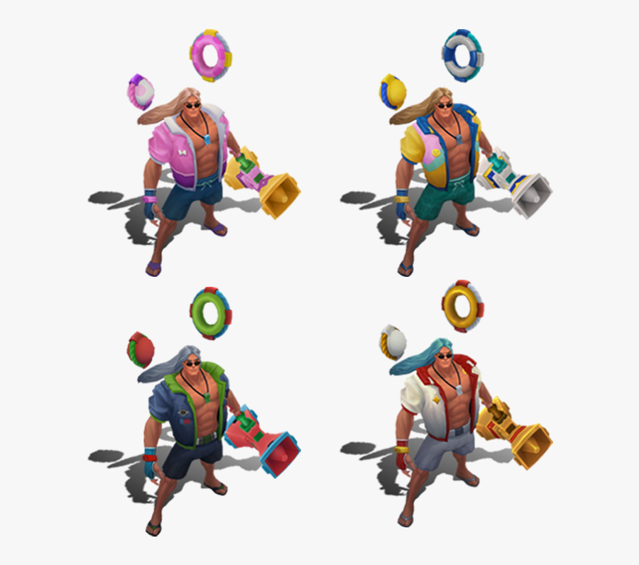 Pool Party Taric Chroma, Transparent Clipart