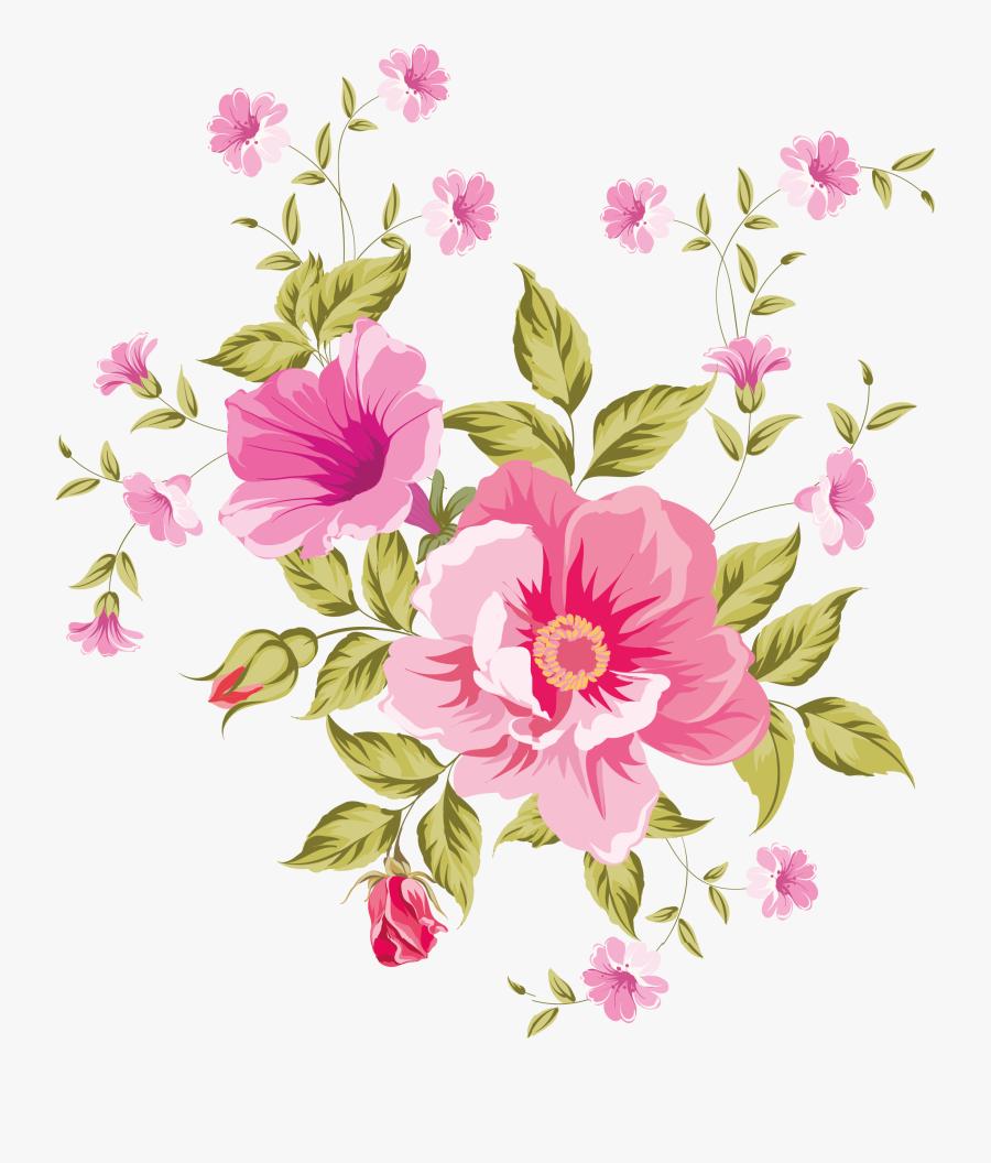 My Design - Pretty Flower Flowers Clipart, Transparent Clipart