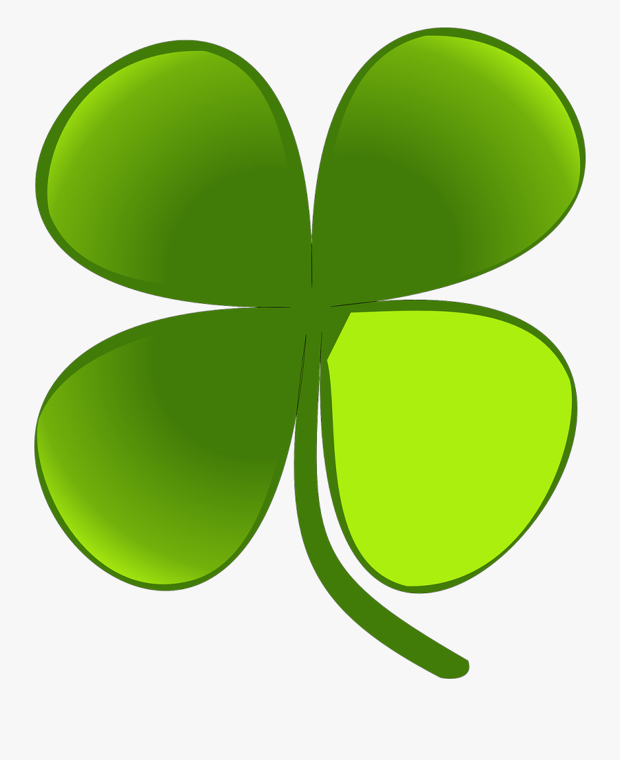 Four Leaf Clover Shamrock Plants Free Picture - Happy Early St Patricks Day, Transparent Clipart