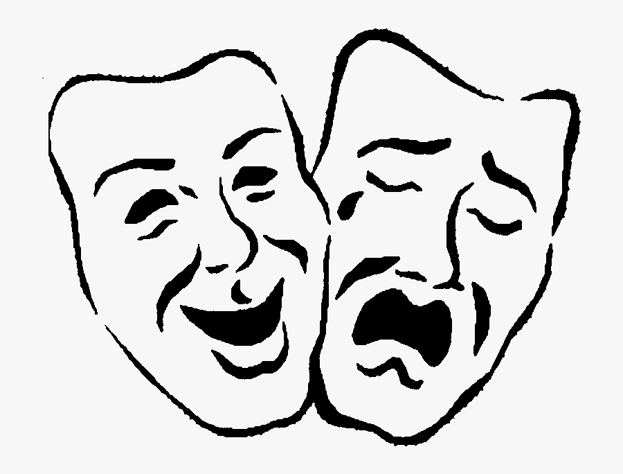 Pictures Of And Faces - Laughing Face And Sad Face, Transparent Clipart