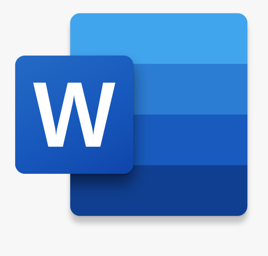 Ms Word Png Icon Clipart , Png Download - Word 2016 New Icon, Transparent Clipart
