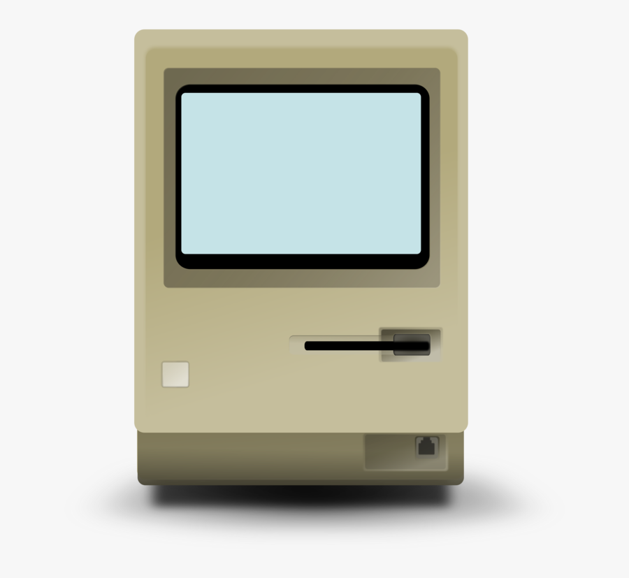 Macbook Pro Macintosh 128k Imac Microsoft Word Free - Apple Macintosh Transparent Png, Transparent Clipart