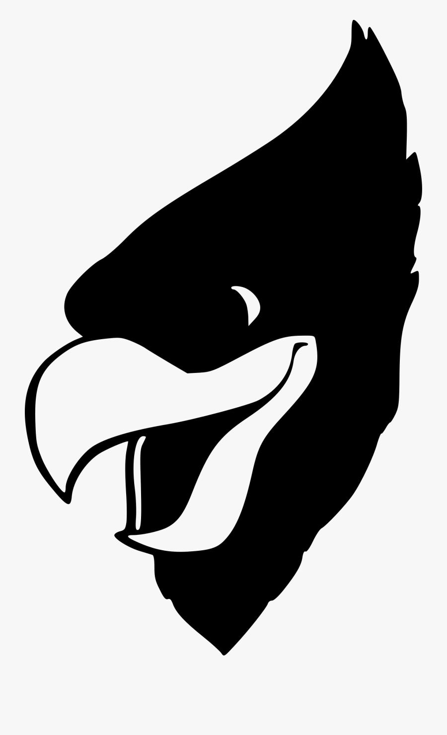 Silhouette,monochrome Photography,fish - Cardinal Mascot, Transparent Clipart