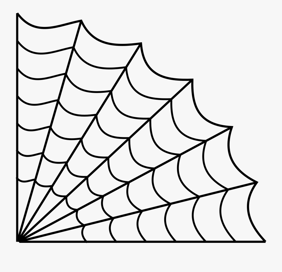 Spiders Picture Free Library Web Drawing Huge Freebie - Spider Web Line Drawing, Transparent Clipart