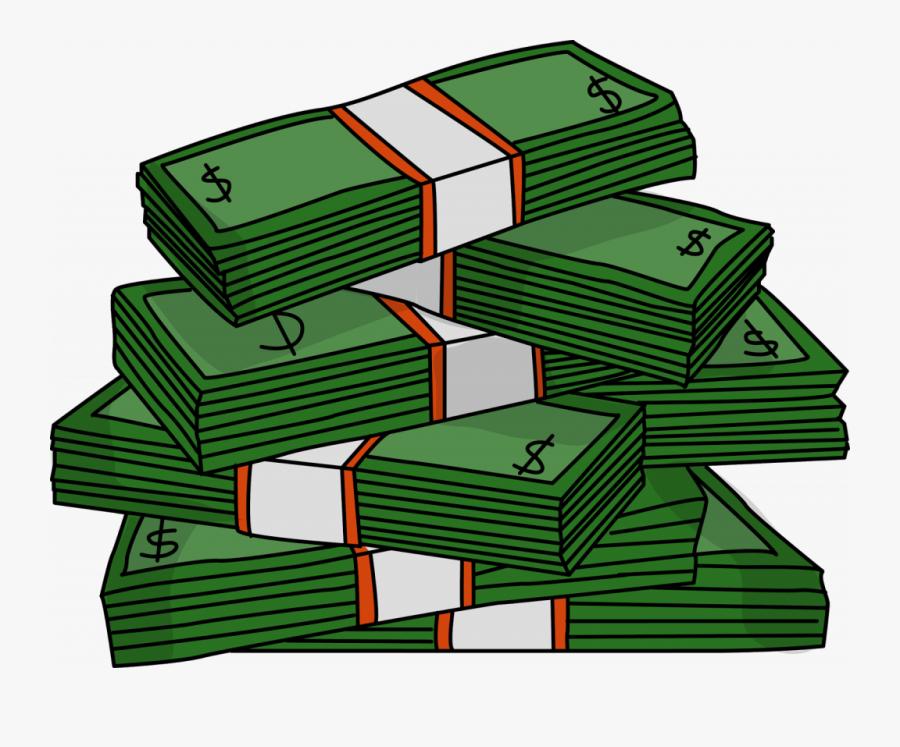 Download Money Clip Art - Money Stack Clip Art, Transparent Clipart