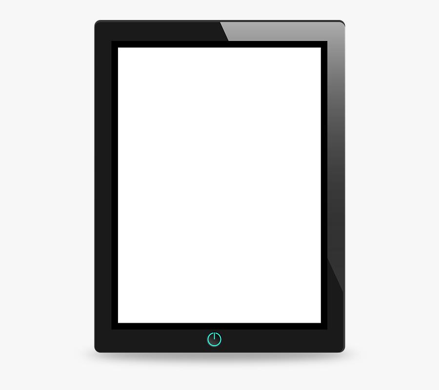 Transparent Celular Vector Png - Tablet Device, Transparent Clipart