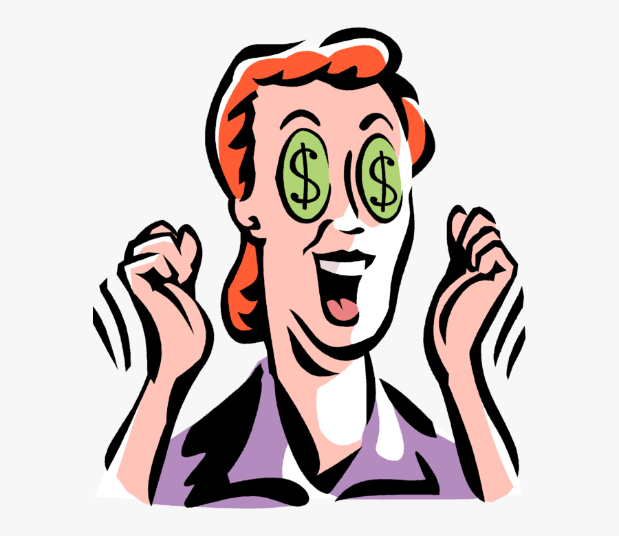 Money Signs Png - Money Signs In Eyes, Transparent Clipart
